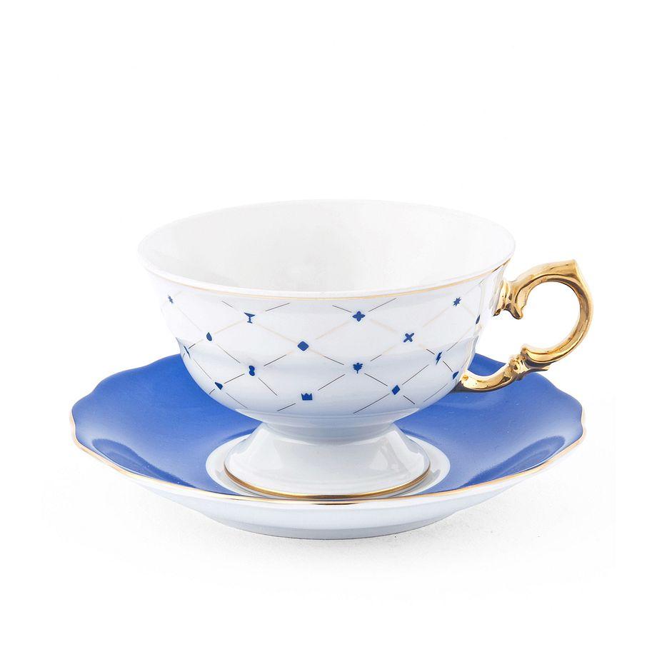 Filiżanka herbaciana ze spodkiem