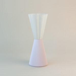 Lampka Anemone 13 wykonana z PLA metodą druku 3D. UAU project