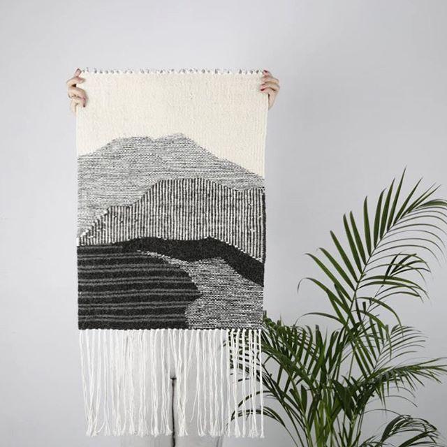 Kilim z górami Tartaruga Studio