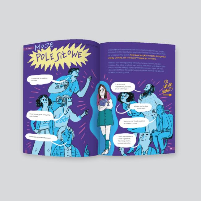 Moje pole siłowe - artykuł w piśmie Kosmos dla dziewczynek